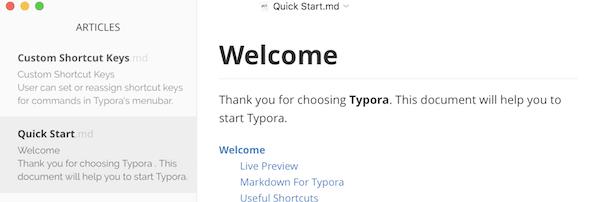 Typora — a markdown editor, markdown reader